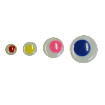 Mozgó szemek, 75 db - színes