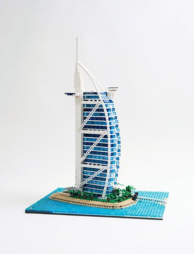 Lego rebuilds the world in miniature lego lego Burj al arab architecture