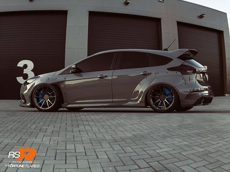 Ford Focus Rs Get Widebody Kit From Fortune Flares