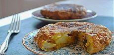 Быстрый завтрак (ужин). Испанская тортилья с картофелем