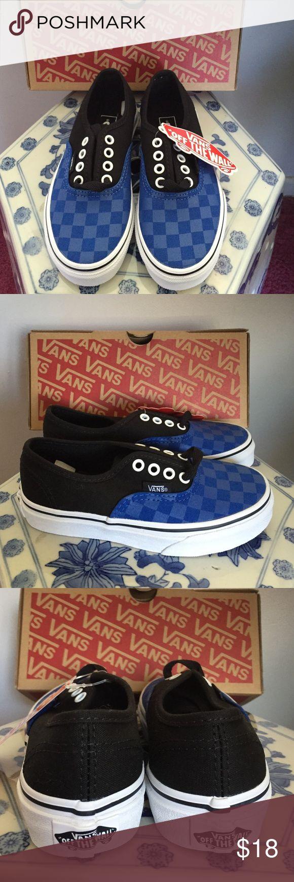 New Authentic Vans unisex kids shoes Nice canvas material Vans Shoes Sneakers