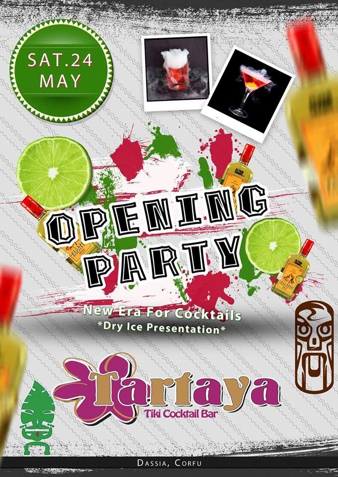 Opening Party @ Tartaya Tiki Cocktail Bar :: Corfu2day.com