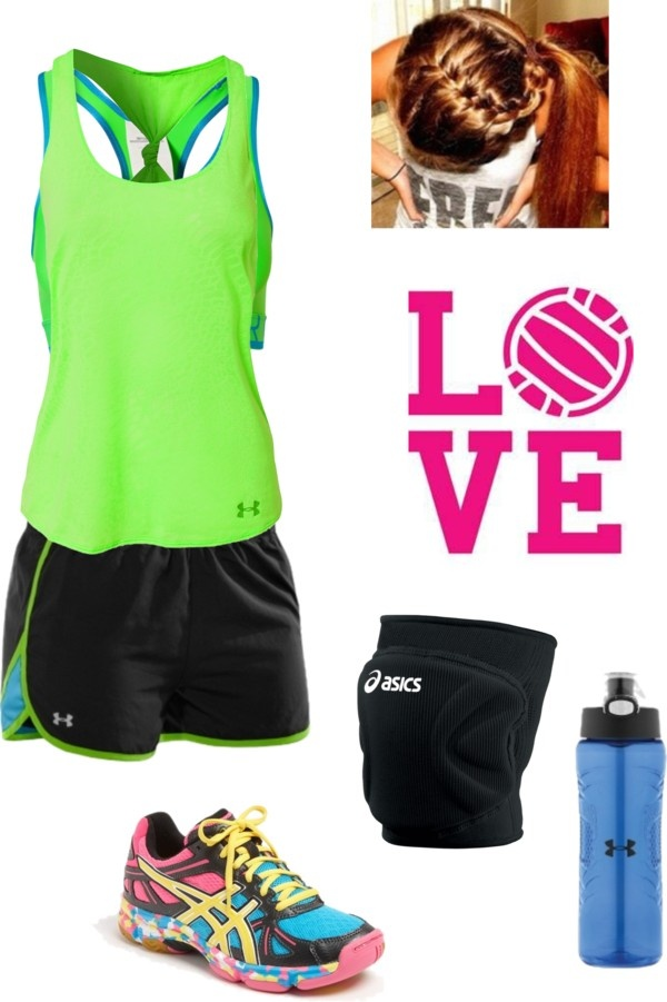 """Volleyball practice"" by dtiij on Polyvore"
