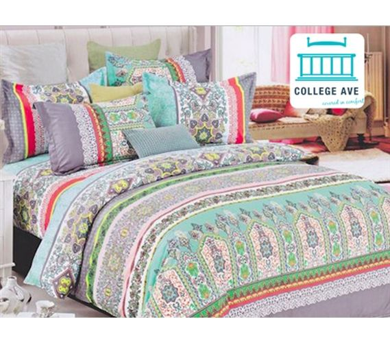 Dorm Bedding For Girls Twin XL Comforter Set Mint Haze Extra Long Dorm Room  Comforter Part 61