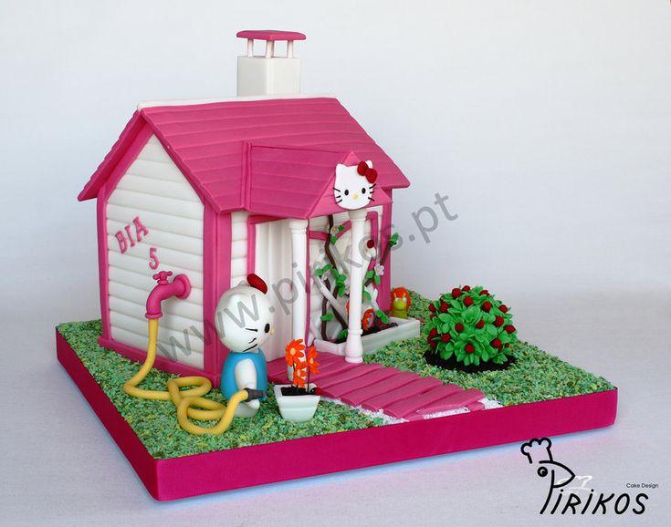 83 Best 2 House Cakes Images On Pinterest House Cake Amazing