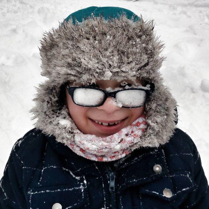 #snow #snowed #fun #kids #winter #mobilephotography #czech_world #instadialy #insta_czech #igraczech #jizerskehory #isergebirge #libereckykraj