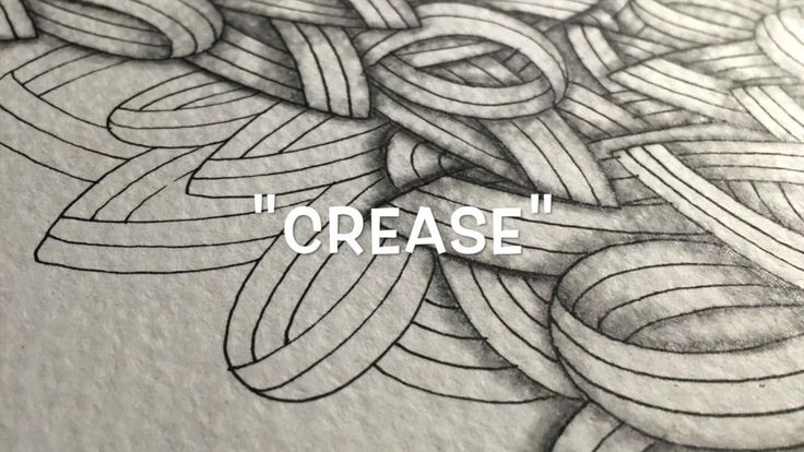 How to Draw the Zentangle® Pattern 'Crease'