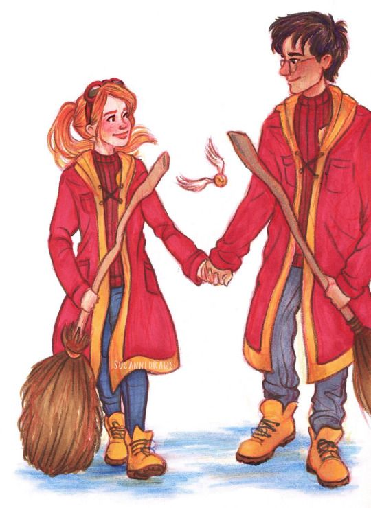 1000+ images about Harry + Ginny on Pinterest | Harry and ginny, Ginny ...