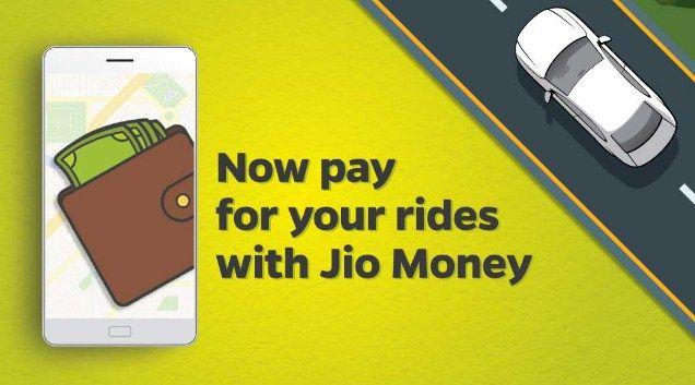 Ola JioMoney  Get Free Rs.100 Amazon voucher on Ola Cab ride