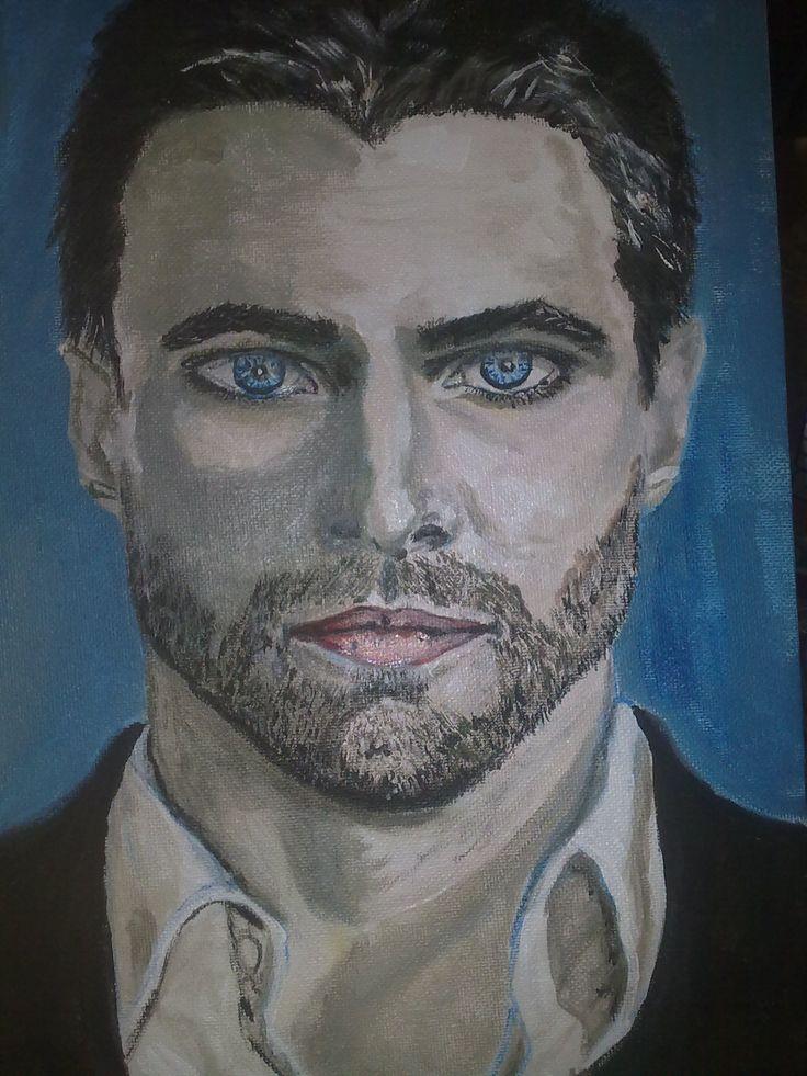 Third portrait in  years, arcylic