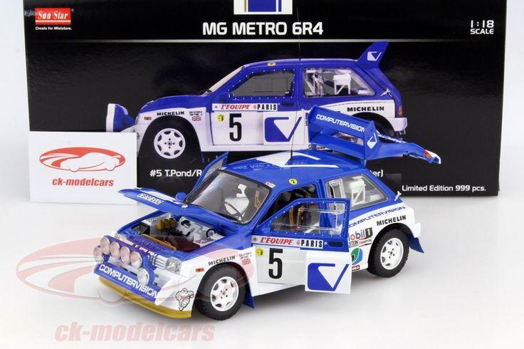 MG Metro 6R4, Rally Monte Carlo 1986, No.5, Pond / Arthur. Sun Star Models. 1/18, Limited Edition 999 pcs. Price (2016): 85 EUR.
