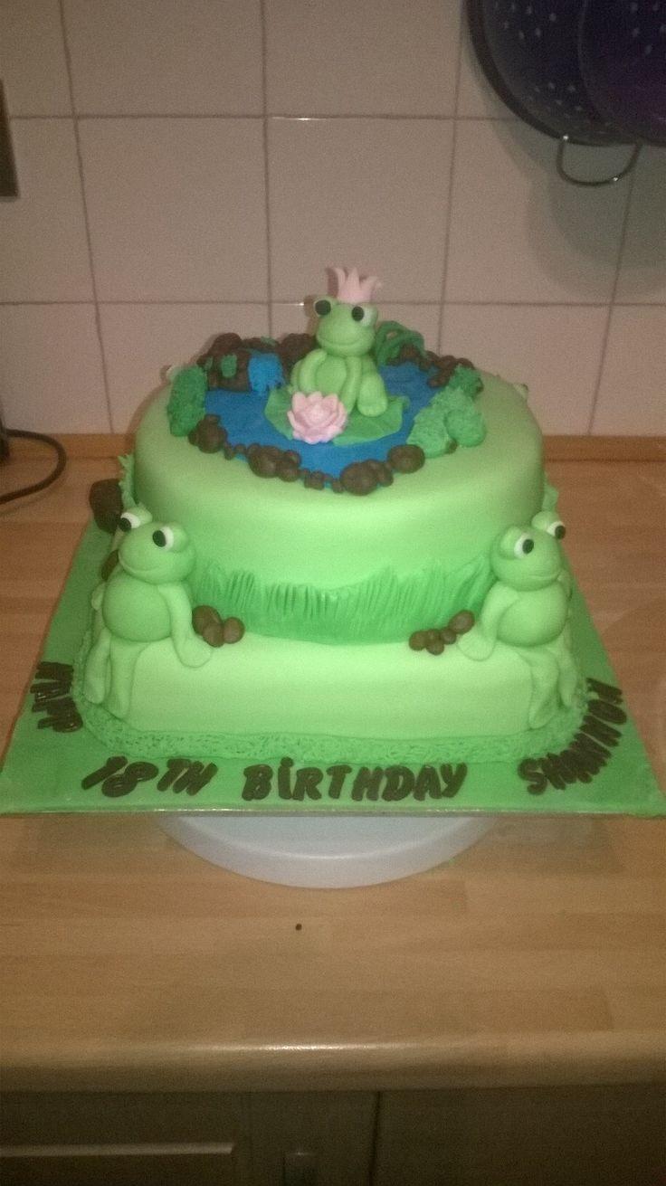 Shannon's birthday cake