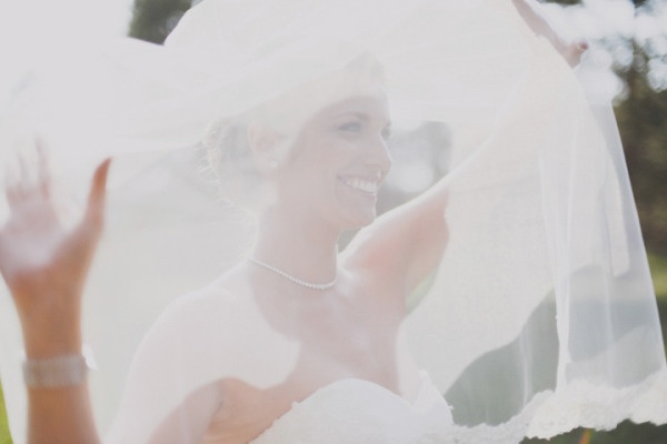 Beautiful veil photo - Estes Park Wedding from June Cochran & Della Terra Mountain Chateau