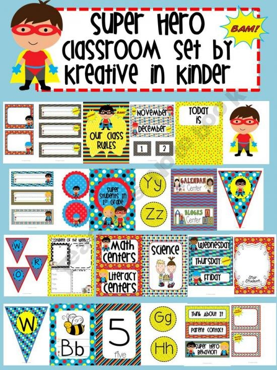 Classroom Ideas Superheroes ~ Best images about superhero theme on pinterest