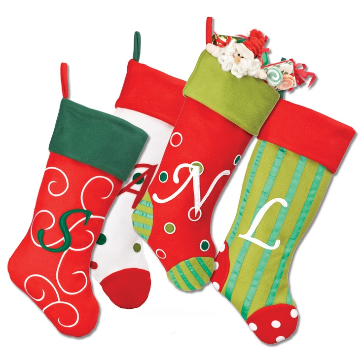 Lovely Christmas Stocking Craft Ideas Part - 14: Bright Patterned Monogram Stockings. Christmas ChristmasDiy Christmas  StockingsChristmas StockingChristmas DecorationsChristmas IdeasProject  IdeasCraft ...