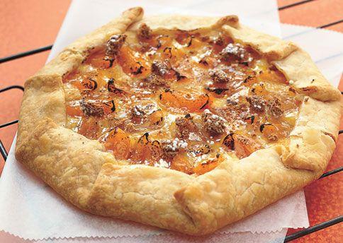 Almond, Apricot, and Cream Cheese Crostata: Recipe: bonappetit.com ...
