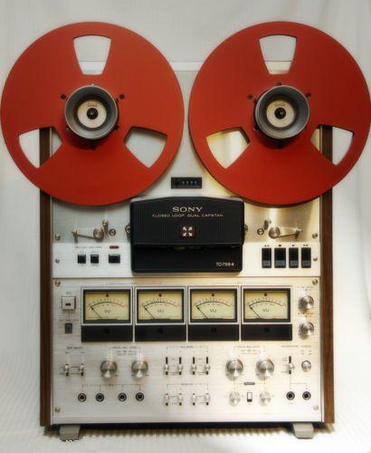 Sony TC 788-4 Reel to Reel Tape Recorder - 4 Track - www.remix-numerisation.fr - Numérisation - Transfert audio - Sauvegarde audio - Capture audio de bande magnétique
