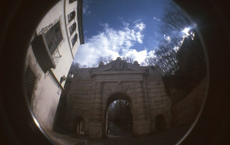 Fisheye Spain, Granada, Alhambra