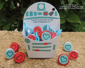 Paper Crafts by Candace: May the 4th be with you Blog Hop & Special Stamp Release