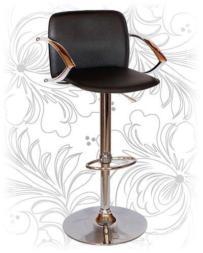 Барный стул 3019 чёрный Купить барные стулья для кухни и кафе