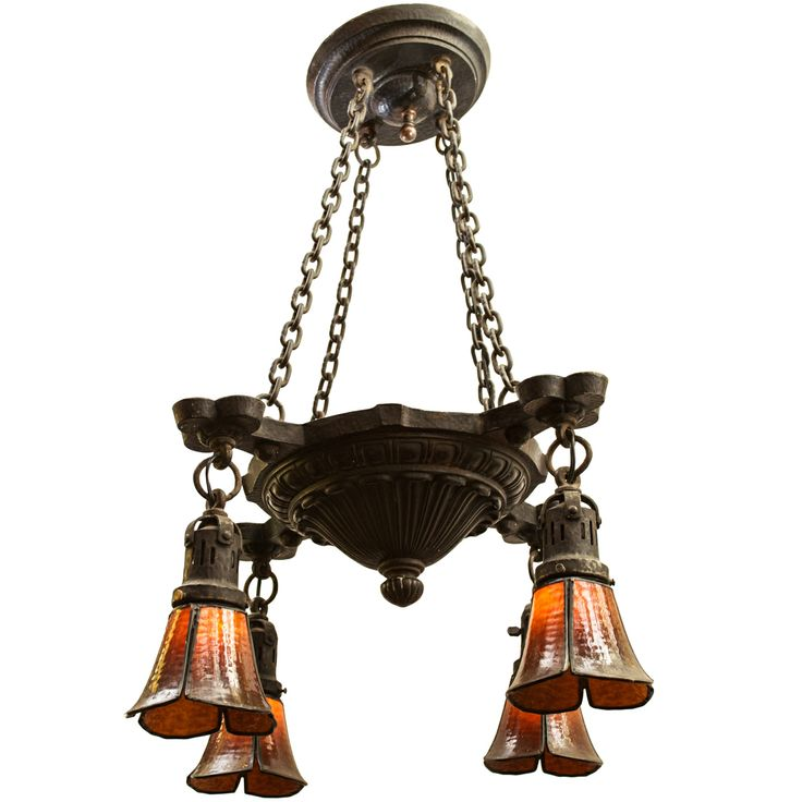 16 best images about lighting arts and crafts on pinterest for Arts and crafts chandelier