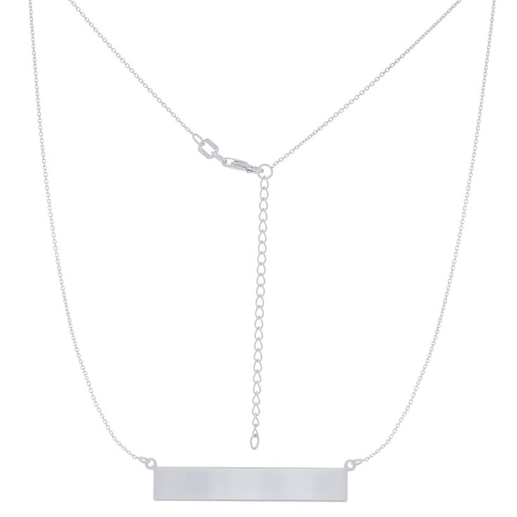 14K ENGRAVABLE PENDANTS - Michaels Jewelers (Available in Gold and Silver)