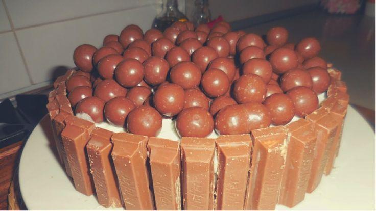 Kit Kat Maltesers Cake