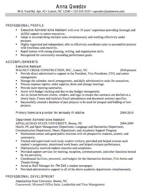 Great Resume Examples 2014 Experienced