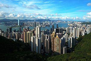 Hongkong,Victoria Peak