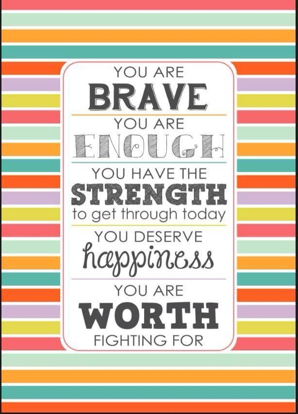 You are WORTH fighting for #eetstoornis #herstel #boulimia #anorexia #hulp #humanconcern #hoop
