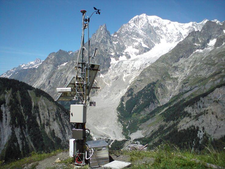 Courmayeur - Mont de La Saxe landslide monitoring