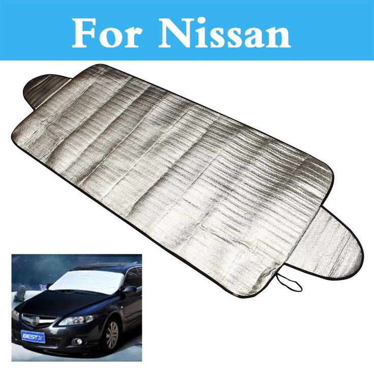 Car Windshield Cover Snow Ice Frost Visor Shade Sunshade For Nissan Sylphy Cedric Cima Crew Dualis ExpeGloria GT-R Juke Bluebird #Affiliate