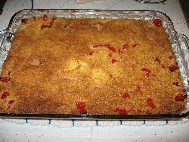 Cherry, Pineapple Dump Cake