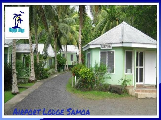 Airport Lodge Samoa - Relax in the beautiful Samoan nature with a cold niu just 10 minutes away from the airport.
