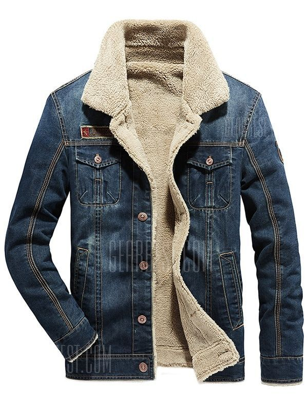 Jotebriyo Men Thicken Long Sleeve Trendy Winter Warm with Velvet Button Down Shirts Tops