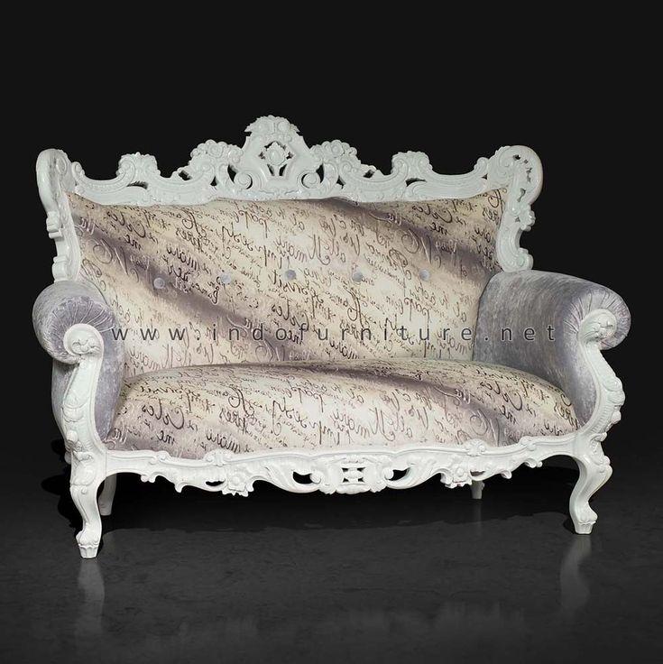Sofa Tamu Barok Ukiran Jepara | Indo Furniture