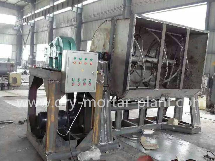 Stucco mixer latex mixer manufacturing for Colombia client. Capacity available: 5t/batch; 8t/batch; 10t/batch; 15t/batch; 20t/batch;  For more information, send email to info@dry-mortar-plant.com