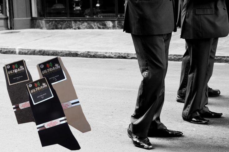 Herensokken...85% katoen...sokken zonder naad op de tenen...de ideale kwaliteits sok.