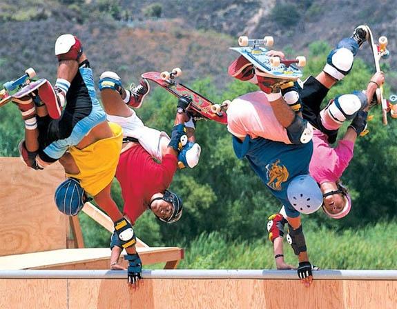 Skateboarding (Bones Brigade)