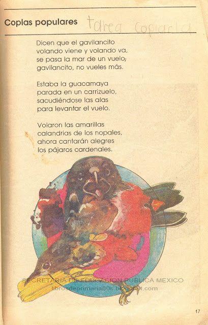 Libros de Primaria de los 80's: Coplas populares (Mi libro de segundo lecturas)
