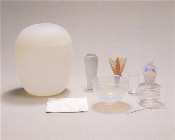 """Mariko Mori, """"Tea Capsule"""" in 9 parts, 2003"""