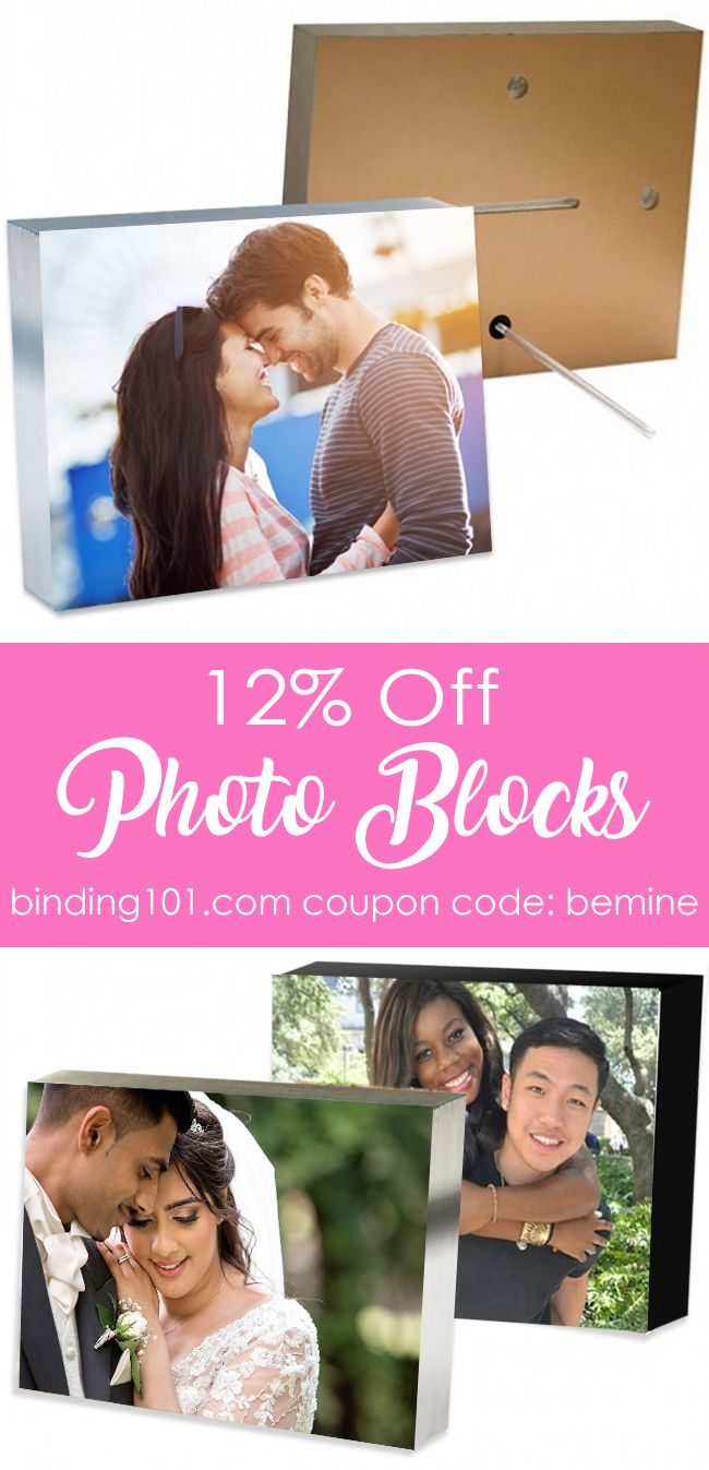 Love these photo blocks, cute valentine's day or anniversary gift ♡ Coupon expires 2/28/18
