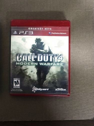 clasificado - Vendo Call of Duty 4 Modern Warfare
