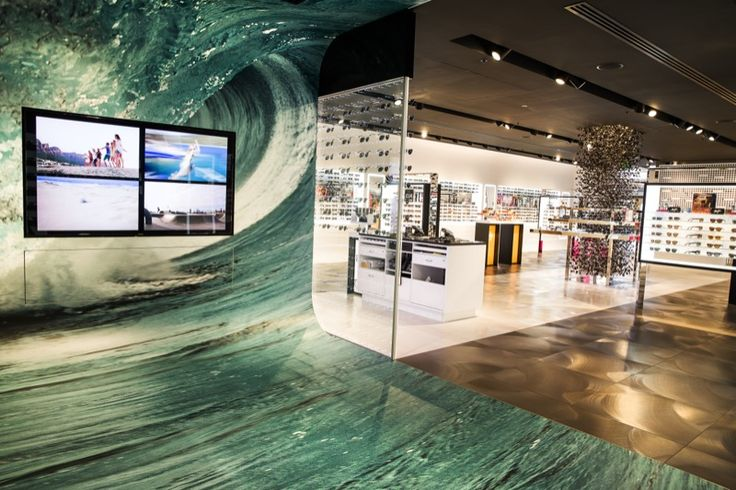 The first Sunglass Hut flagship store opens in Asia Pacific, in Sydney