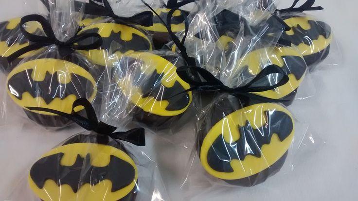 Pão de Mel Decorado - Batman
