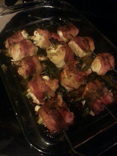 Stuffed Chicken Bacon Bites