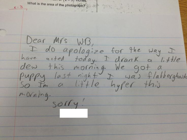 The 21 best images about Funny on Pinterest Fruits and - apology letter to school