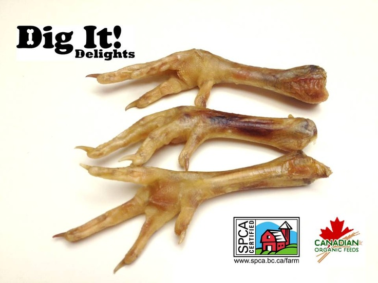Dig It! Delights - BCSPCA Certified Chicken Feet