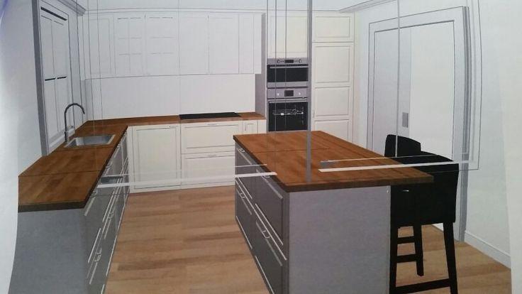 Kjøkken bodbyn vibyggerhus