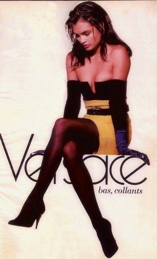 1988 Versace ad Talisa Soto